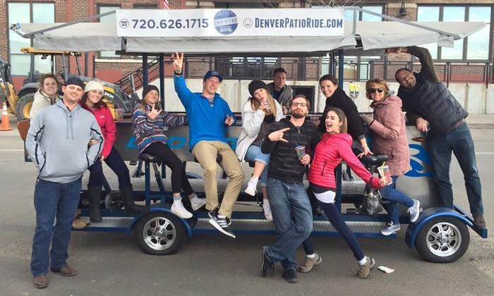 Up To 17 Off Bike Bar Tour With Denver Patio Ride