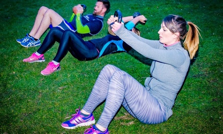 One Month of Bootcamp Sessions with Optional Diet Course at The Lotus Fitness Academy (Up to 90% Off)