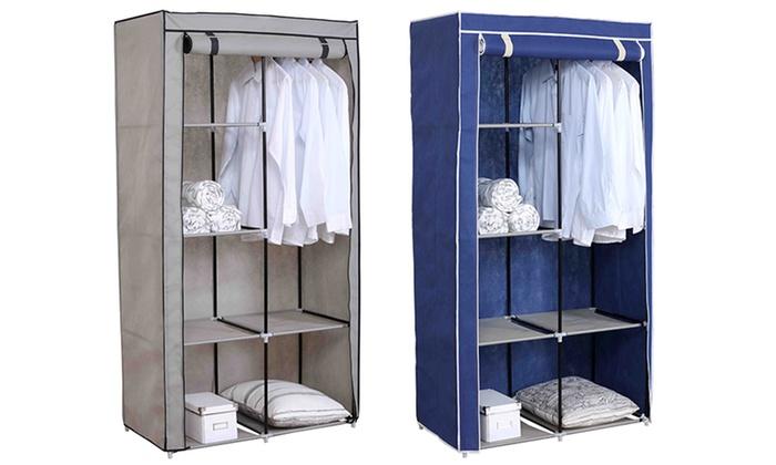 Sunbeam Freestanding Wardrobe Groupon Goods