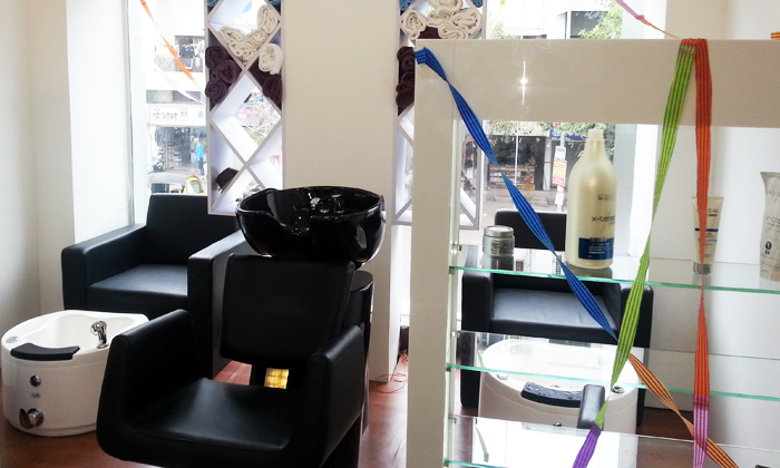 Hair Spa, Hand Massage & MORE at B Tanish Unisex Salon