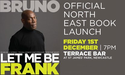 image for Frank Bruno: Let Me Be Frank on 1 December at NINE Sports Bar & Lounge (Up to 78% Off)