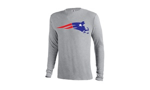 Ink'd: $13.99 for Pats Mass Patriots T-Shirt in Athletic Grey for In-Store Pickup at Ink'd ($24.99 Value)