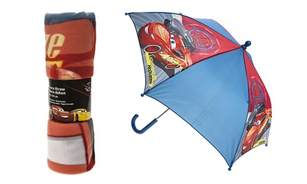 Cars 3 Umbrella, Blanket or Both