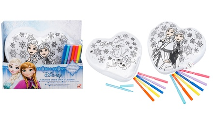 Disney Frozen Colour Your Own Cushion Set for £4.99