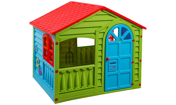 35f16753f PalPlay Outdoor and Indoor Playhouse | Groupon