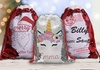 Up to 54% Off Sequin Santa Gift Sacks from Monogram Online