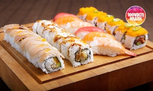 Hokkaido Sushi: Menu sushi All You Can Eat per 2 persone da Hokkaido Sushi (sconto fino a 30%)
