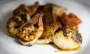 Seaside Grill: $26 for $40 Worth of Seafood for Two or More at Seaside Grill