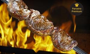 Churrascaria Los Pampas Goiânia: Churrascaria Los Pampas Goiânia – Setor Central: rodízio de churrasco com buffet no almoço ou jantar para até 4 pessoas