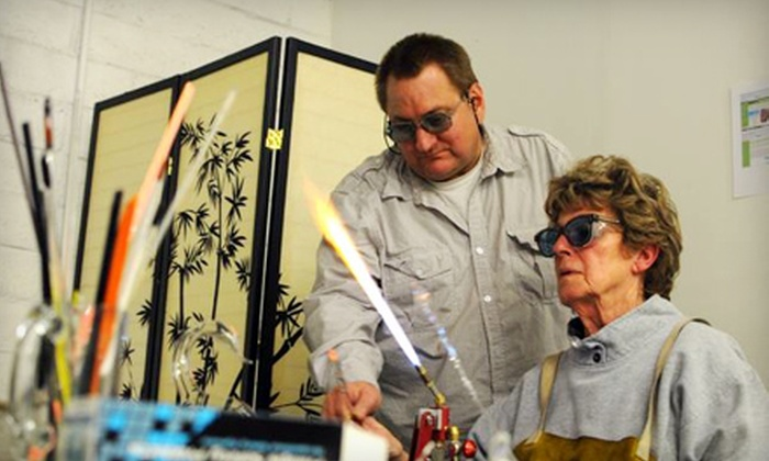 Studio Royal - Henderson: Introductory Glass-Blowing Class for One or Two at Studio Royal (Up to 63% Off)