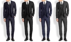 Mario Rossi Men's Slim-Fit Suits (3-Piece) at Mario Rossi Men's Slim-Fit Suits (3-Piece), plus 6.0% Cash Back from Ebates.