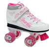 Sparkle Girls' Lighted-Wheel Roller Skates