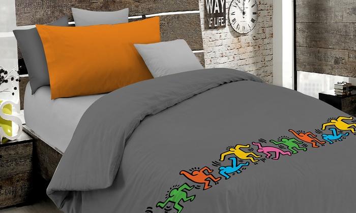 Copripiumino Keith Haring.Copripiumino Keith Haring Groupon