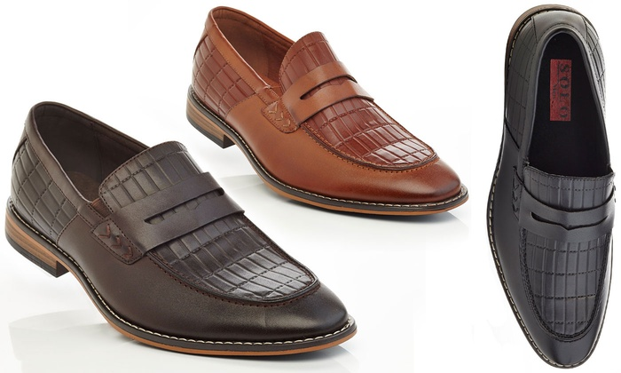 Solo Men's Slip-On Dress Loafers