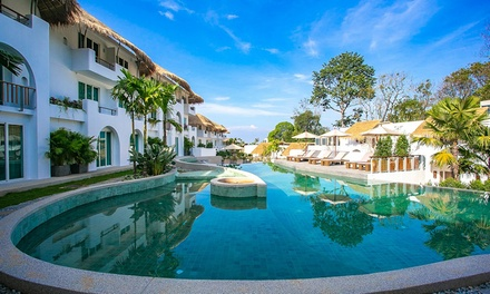 Thailand, Khao Lak: 5-, 7- or 10-Night for Two People with Massage and Optional Dinner at 5* Eden Beach Resort And Spa