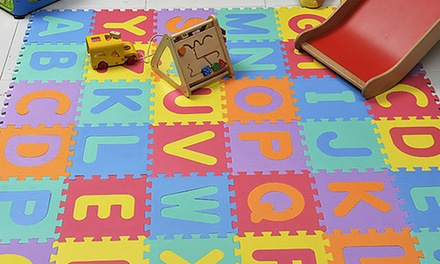 36Piece Foam Alphabet Sets: One $16 or Two $25