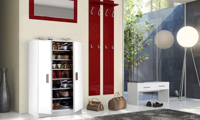 Groupon Goods Global GmbH: Scarpiera a doppia anta, disponibile in vari modelli e 2 colori da 69,95 € (fino a 71% di sconto)