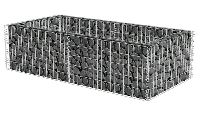 jardini re gabion groupon. Black Bedroom Furniture Sets. Home Design Ideas
