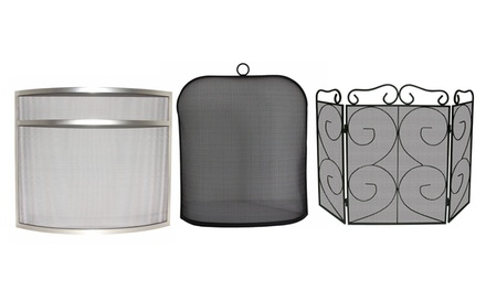 Fire Vida Fire Screens in Choice of Design from £9.98