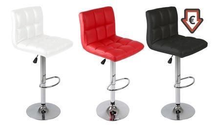 tabourets de bar r glables rubens groupon shopping. Black Bedroom Furniture Sets. Home Design Ideas