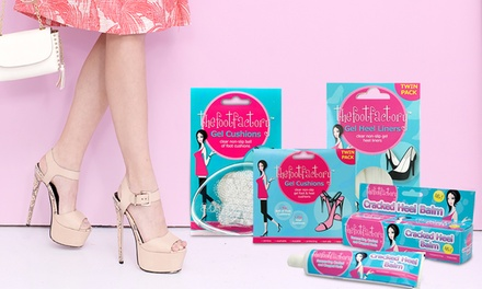 One or Two The Foot Factory Heel Liners, Foot Cushions or Cracked Heel Balm