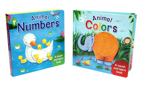 Touch and Learn Book Set (2-Piece)