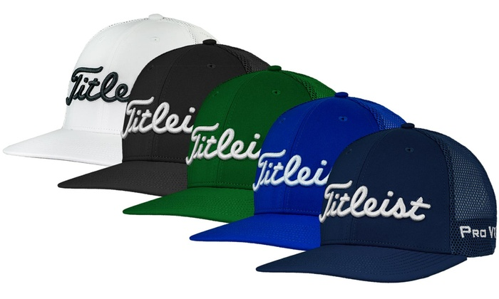 42c26e9a2ee50 Up To 37% Off on Titleist Men s Snapback Mesh Hat