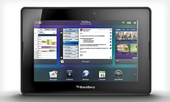"BlackBerry PlayBook 7"" Tablets: 32GB or 64GB BlackBerry PlayBook 7"" Tablet (Up to 75% Off). Free Shipping and Returns."