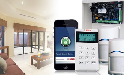 image for  $49 + $38.50 per Month for 36Mths for Fully-Installed Bosch Security System with GPRS & More