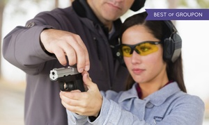 Shore Shot Pistol Range: $33 for a One-Hour Gun Rental and Shooting-Range Package for Two at Shore Shot Pistol Range ($62 Value)