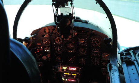 Experience: Fighter Pilot Simulator Intro For just: £25.0