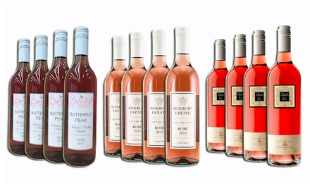 $59 a Mixed Dozen of Summer Rose Wines from Hunter Valley and SEA (Don't Pay $189)