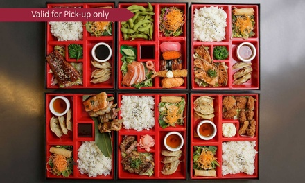 SixCourse Bento Box with Drink for One $24, Two $48 or Four Ppl $96 at Kamikaze Coomera Up to $259.80 Value