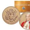 Pope John Paul II Commemorative Medal U.S. Congressional Bronze Coin