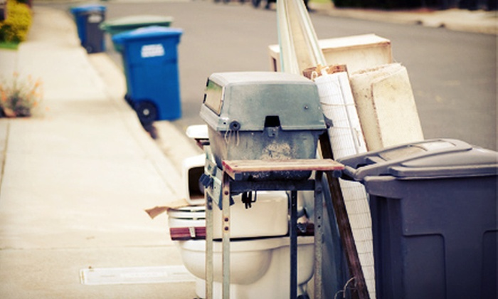 Full House - Arcola East-South Side: $35 for Up to 250 Pounds of Junk Removal Including Labour, Transportation, and Disposal from Full House ($122.50 Value)