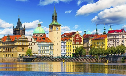 ✈ Prague and Berlin or Budapest: 4 or 6 Nights at a Choice of Hotels with Return Flights and Train Transfers*