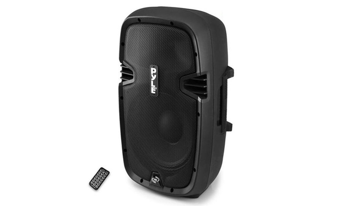 "NEW Pyle PPHP1537UB 15/"" 1200 Watt Powered Two-Way Speaker MP3//USB//SD//Bluetooth"