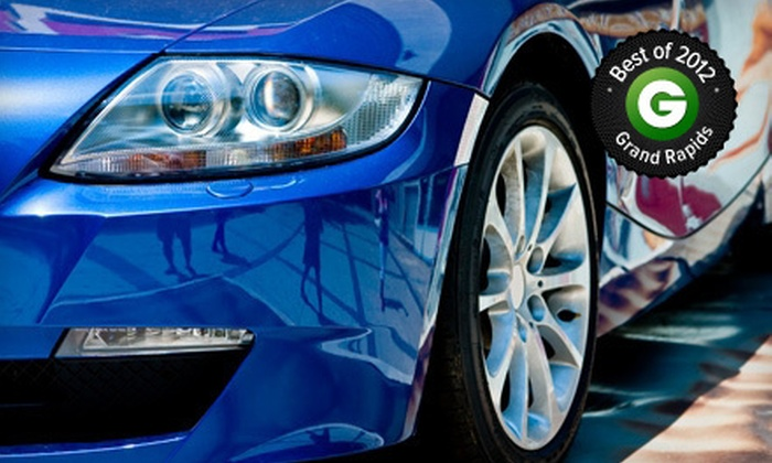 "Waterworks Car Wash - Northeast Grand Rapids: $20 for One Gold Wash and Two ""The Works"" Washes at Waterworks Car Wash ($48.99 Value)"