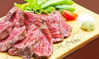 隠れ家ムード漂うレストランで、美味しいディナーを堪能≪和牛ランプ肉のステーキ、生ウニの和風クリームスパゲッティなどシェフ特製ディナーコー...