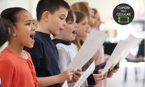 Intense Casa de Arte e Cultura: Intense Casa de Arte e Cultura –Centro: 1 ou 3 meses de aulas de técnica vocal em grupo, dança ou teatro infantil