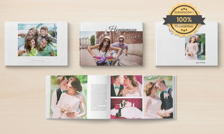 1, 2 o 3 libros de fotos de Instagram de 30 o 50 páginas con PrinterPix, tamaño A4 o A5 (hasta 94% de descuento)