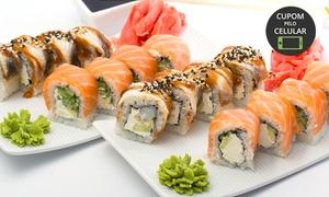 Sushi Gami: Buffet livre para 1 ou 2 pessoas no Sushi Gami – Santa Amélia