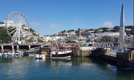 Torquay: 1 or 2 Nights for Two with English Breakfast and Dinner at Regina Hotel