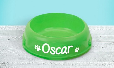 Personalised Pet Bowl from I Just Love It