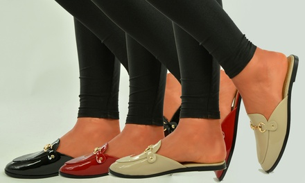 Women's Backless Loafers for £14.99