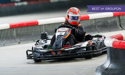3 Einzelfahrten à 10 Min. inkl. Leih-Helm für 1 Person im Michael Schumacher Kart & Event Center (32% sparen*)