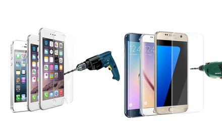 Protector de pantalla de cristal templado para Samsung o iPhone desde 1,95 € (hasta 92% de descuento)
