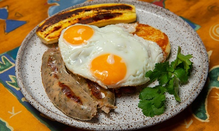 Breakfast with Drink Each for One ($14), Two ($28) or Four People ($56) at Cumbia Bar - Kitchen (Up to $90 Value)