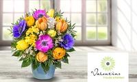 Wertgutschein über 13 € anrechenbar auf das gesamte Blumen- und Geschenksortiment von Valentins