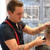 Men's Wash, Cut and Head Massage